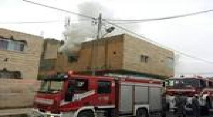 حريق في معان والدفاع المدني يتعامل معه