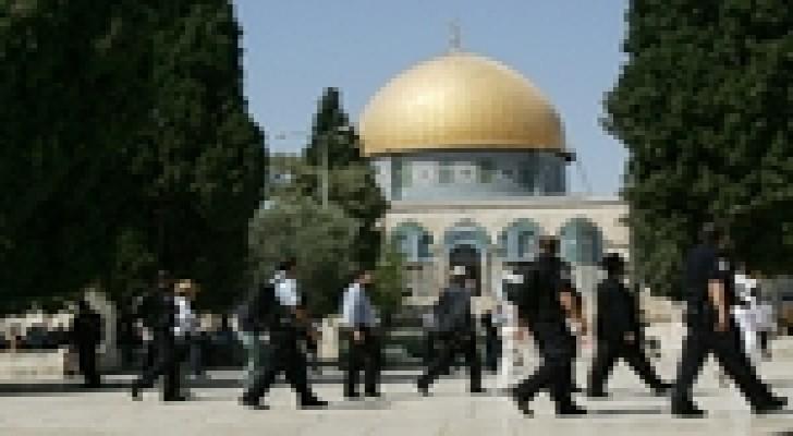 1300 مستوطن اقتحموا المسجد الأقصى خلال نيسان الماضي