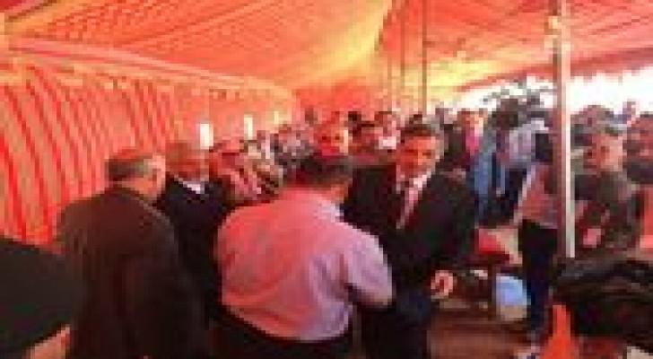 جماعة الاخوان المسلمين تهنىء بعودة السفير العيطان