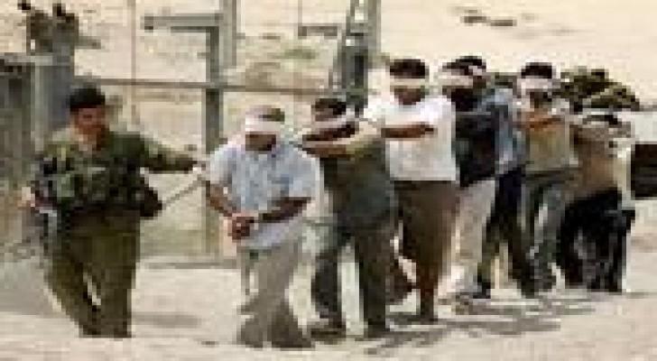 رام الله : خيمة اعتصام تضامنا مع الاسرى الاداريين