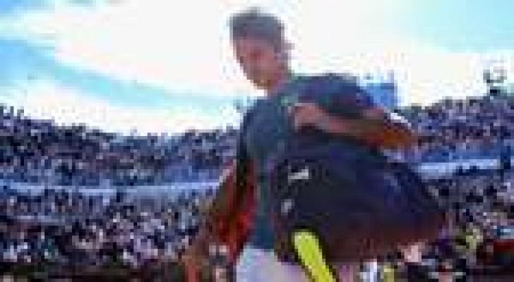 شاردي يقصي فيدرر من بطولة روما المفتوحة للتنس