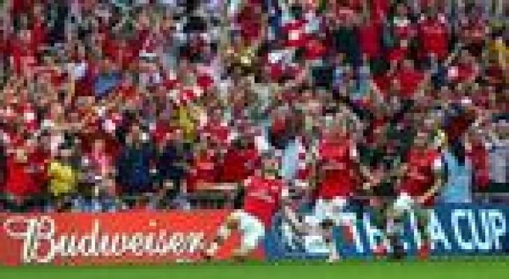 ارسنال يتوج بلقب كأس الاتحاد الانجليزي