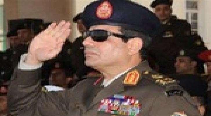 المصريون في الخارج يصوتون لصالح السيسي