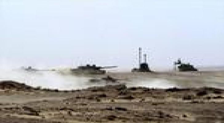 هاآرتس : مناورات عسكرية أردنية أمريكية اسرائيلية على الحدود السورية بمشاركة وحدات خليجية