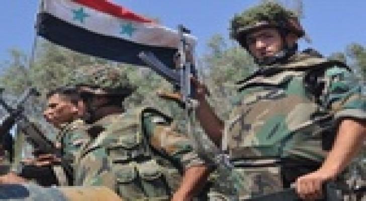 عملية عسكرية للجيش السوري في درعا  وحمص