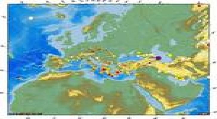 خارطة زلزالية جديدة للأردن