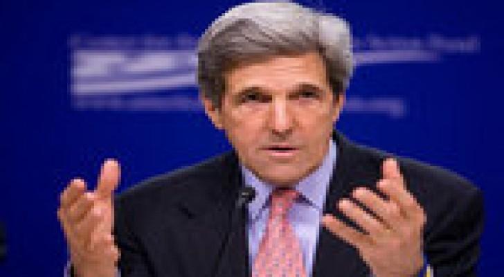 كيري: الإدارة الأمريكية تمكنت من نزع 92 بالمئة من ترسانة سوريا الكيماوية