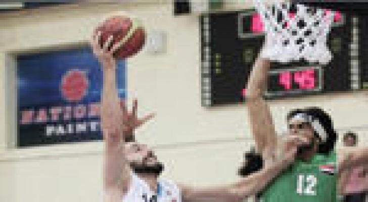 منتخب السلة يفوز على العراق ويضمن لقب غرب اسيا