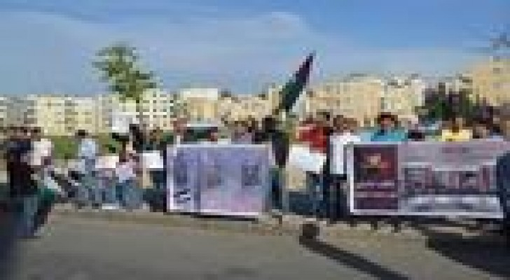 وقفة تضامنية مع الاسرى أمام السفارة الإسرائيلية في عمان يوم السبت المقبل