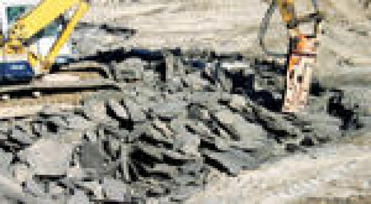 الحكومة توقع مذكرة للتعدين السطحي للصخر الزيتي