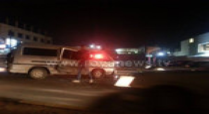 اصابة في حادث سير بالمقابلين.. صور