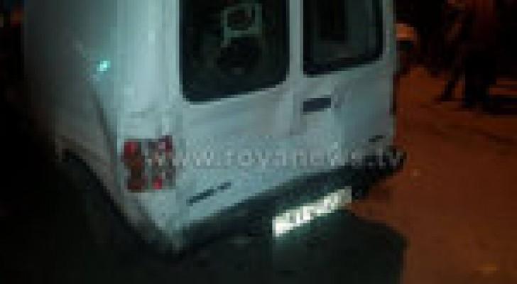 حادث تصادم بين 5 سيارات في ضاحية المرج بالكرك .. صور