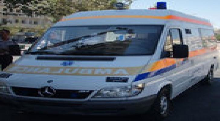 (5) إصابات اثر حادث تصادم في محافظة الكرك
