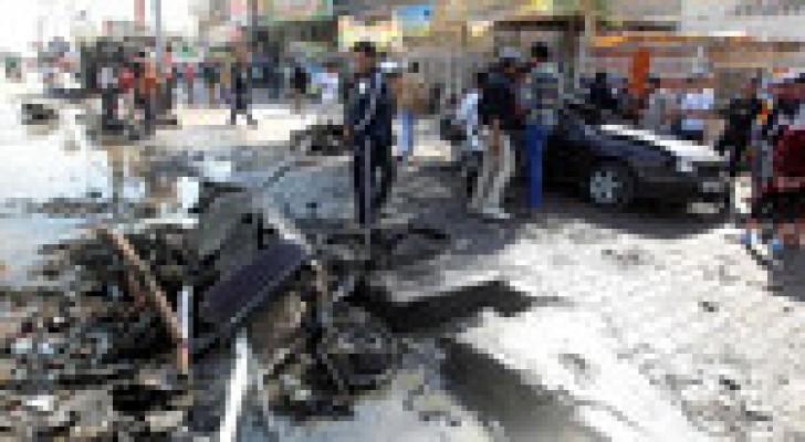 11 قتيلاً و26 جريحاً بثلاثة تفجيرات في بغداد