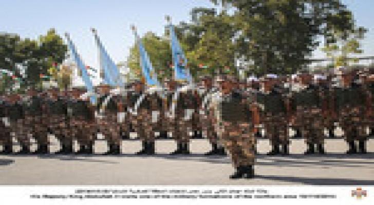 الملك يزور إحدى تشكيلات المنطقة العسكرية الشمالية