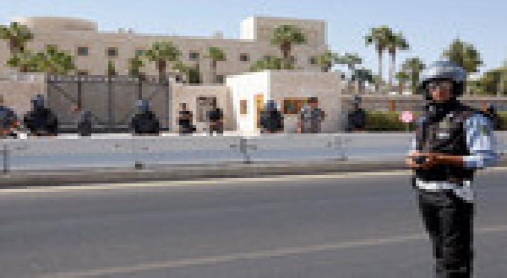 السفارة الأمريكية في عمان تغلق ابوابها الثلاثاء