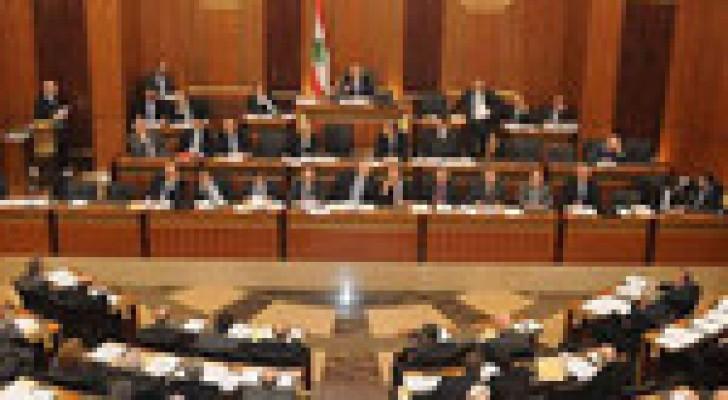 صدور قانون تمديد ولاية البرلمان اللبناني اليوم