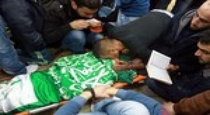 استشهاد  شاب فلسطيني في مواجهات مع جيش الاحتلال الإسرائيلي في الخليل