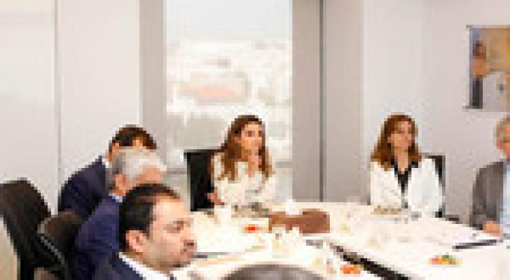 الملكة رانيا تترأس اجتماعا لمجلس ادارة مؤسسة الملكة رانيا للتعليم والتنمية