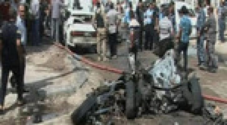 مقتل قائد عسكري عراقي بانفجار سيارة مفخخة يقودها انتحاري في ديالى