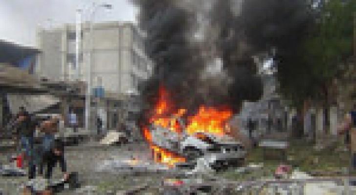 قتلى وجرحى بانفجار سيارة مفخخة استهدفت نقطة تفتيش امنية غربي بغداد