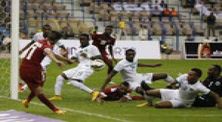قطر تتعادل مع السعودية 1-1 في افتتاح كأس الخليج