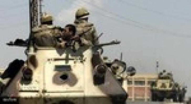 القوات المسلحة المصرية تنفذ حملتين نوعيتين بسيناء