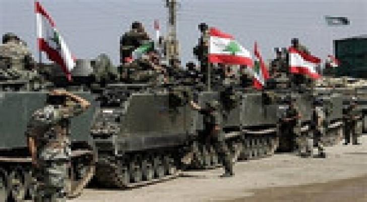 اصابة ثلاثة جنود لبنانيين بانفجارعبوة ناسفة