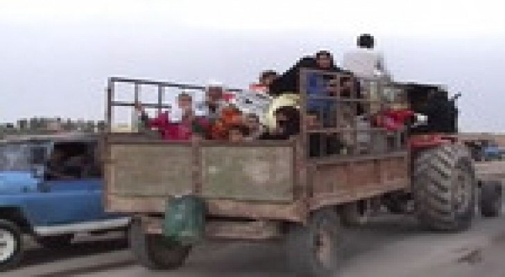 العراق: داعش تجبر الاسر الفلسطينية للنزوح الى كردستان