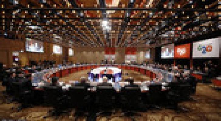 انطلاق الجلسة الأولى لقمة العشرين