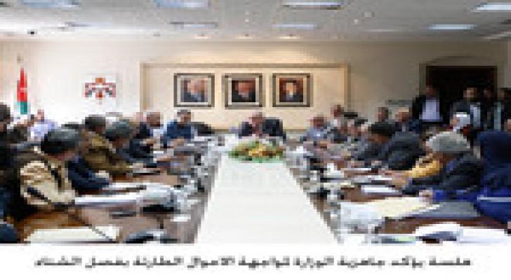 هلسة: وزارة الأشغال جاهز لمواجهة الظروف الجوية
