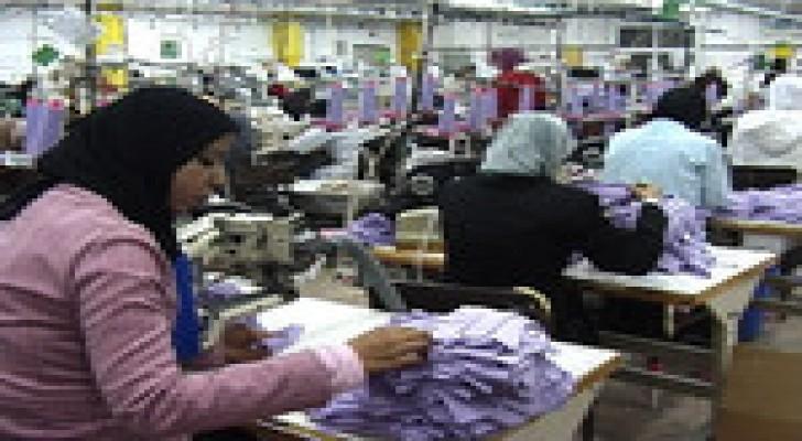 20 بالمائة زيادة صادرات اربد الشهر الماضي
