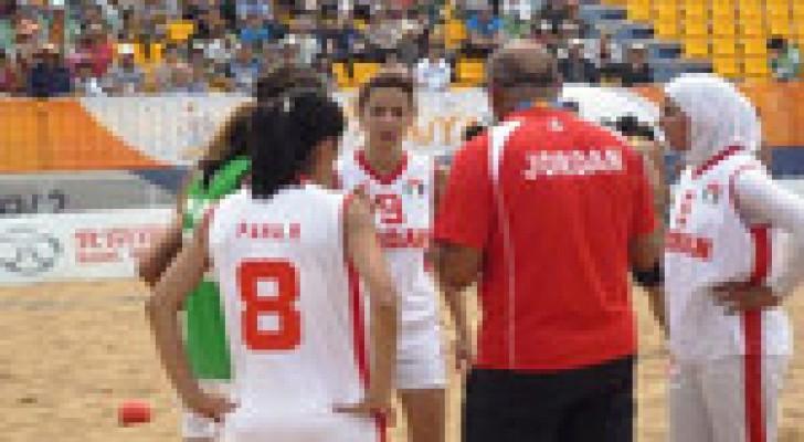 منتخبنا لكرة اليد الشاطئية يفوز على الفلبين