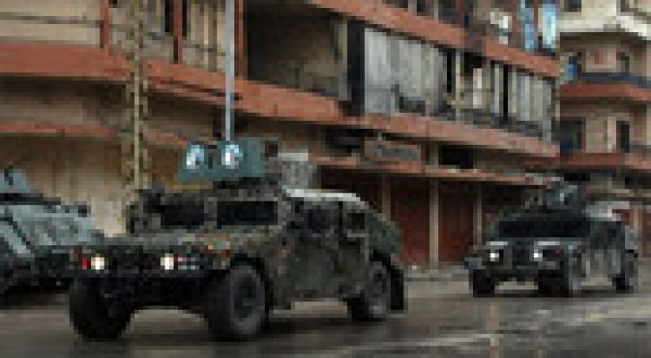 الجيش اللبناني يداهم مواقع في طرابلس والبقاع الاوسط