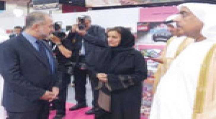 مسؤولة إماراتية تبدي إعجابها بالصناعات الغذائية الأردنية