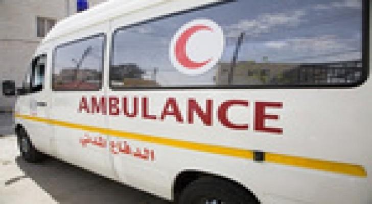 إصابة (7) أشخاص اثر حادث تدهور في محافظة العقبة
