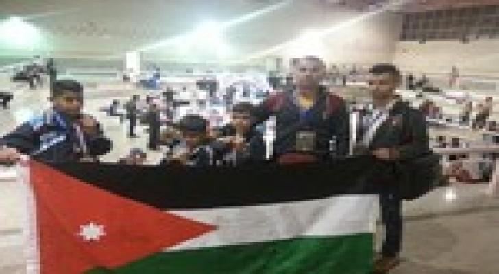 علم الأردن يرفرف ويحصد الذهب في سماء القاهرة