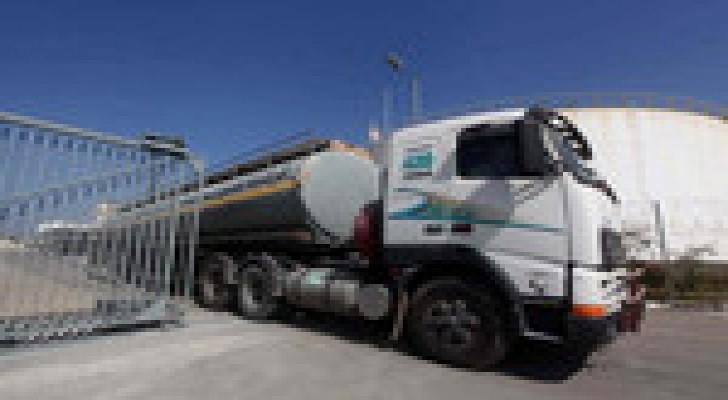 استمرار ضخ الوقود لمحطة كهرباء غزة