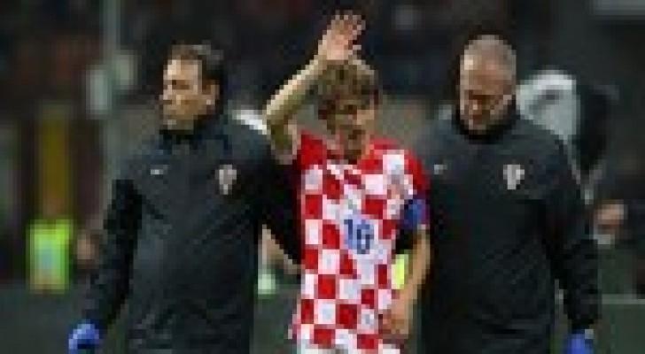 اصابة موديريتش ستبعده عن الملاعب 4 اسابيع