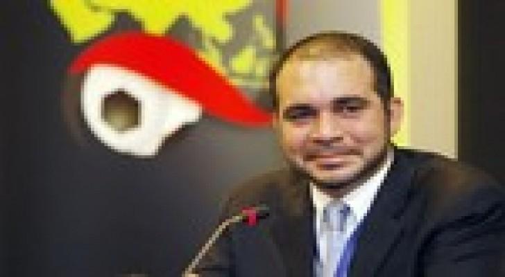 الامير علي يعبر عن فخره بترشح جمال محمود لجائزة افضل مدرب اسيوي