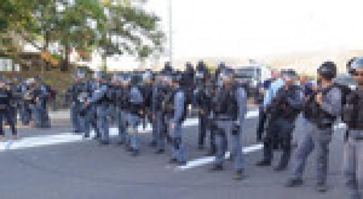 الاحتلال الاسرائيلي يرفع حالة التأهب الى مستوى (ج) في القدس المحتلة