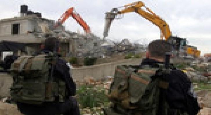 حقوق الانسان: هدم منازل منفذي عملية القدس انتهاك للقانون الدولي