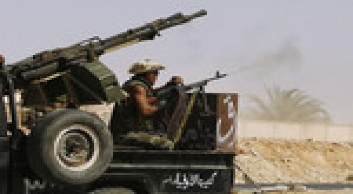 الجيش الليبي يوقف عملياته في بنغازي كهدنة إنسانية لمدة 12 ساعة