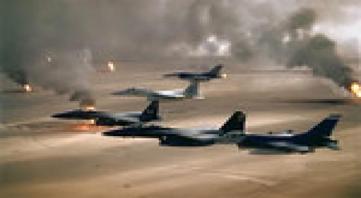 مقتل 4 من قيادات تنظيم داعش من بينهم والي الموصل في غارة لطائرات التحالف بالعراق
