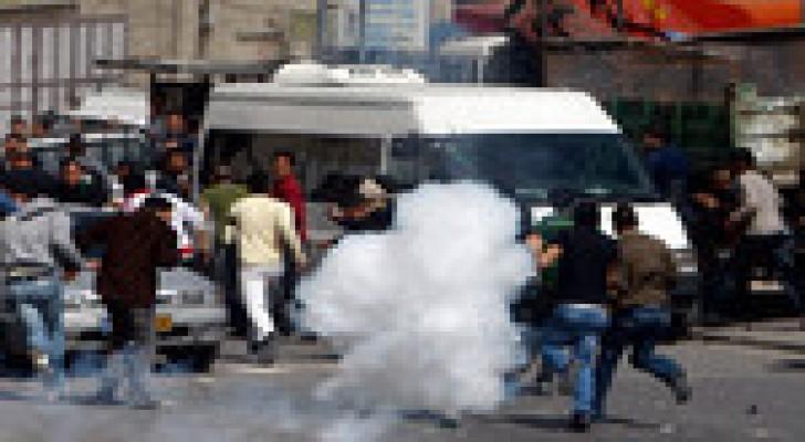 اصابة 19 فلسطينيا برصاص شرطة الاحتلال بالقدس المحتلة