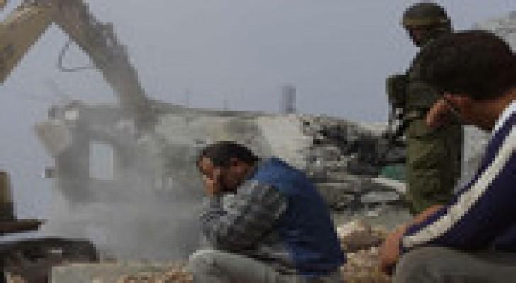 هيومن رايتس واتش: هدم المنازل في الضفة الغربية جريمة حرب