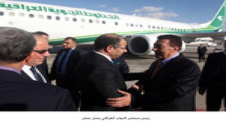 رئيس مجلس النواب العراقي يصل عمان