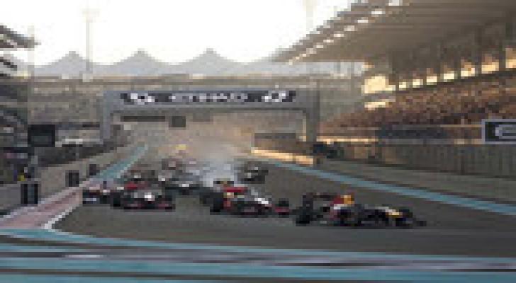 الملك يحضر سباق جائزة الاتحاد للطيران في أبوظبي