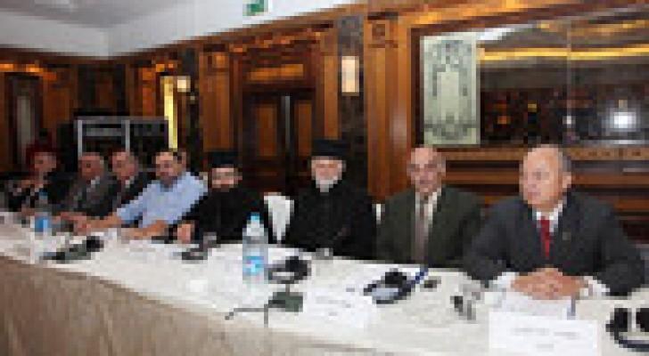 """اختتام  اعمال مؤتمر """"المسيحيون وربيع العرب"""" في عمان"""