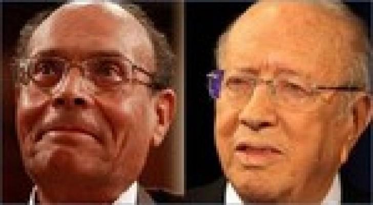 رئاسة تونس: نحو دور ثان بين السبسي والمرزوقي